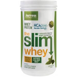 THE SLIM WHEY GREEN TEA 450 g, Jarrow Formulas