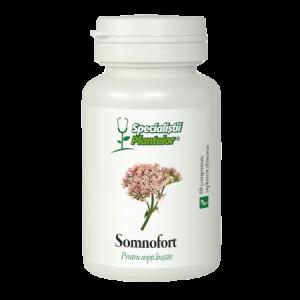 SOMNOFORT - SPECIALISTII PLANTELOR, 60 comprimate, Dacia Plant