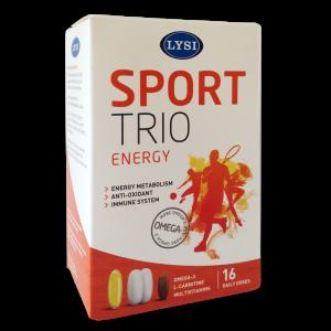 SPORT TRIO ENERGY, 16 doze zilnice, Lysi