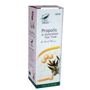 PROPOLIS & TEA TREE SPRAY, 50/100 ml, Laboratoarele Medica