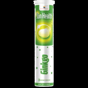 GINKGO - SUN HEALTH, 20 comprimate efervescente, Sun Wave Pharma