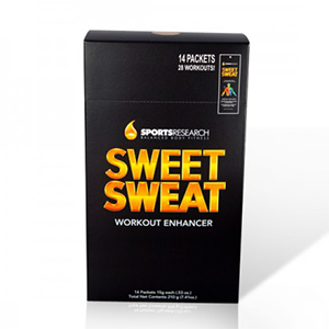 GEL PENTRU FITNESS 14 plicuri x 15 g (210 g), Sweet Sweat