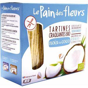 TARTINE CROCANTE CU NUCA COCOS BIO 150 g, Les Pain des Fleurs