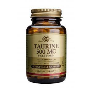 TAURINE 500 mg, 50 capsule, Solgar