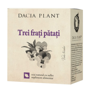 TREI FRATI PATATI, Ceai 50 g, Dacia Plant