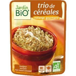 TRIO DE CEREALE (BULGUR, HRISCA, SOIA) BIO 250 g, Jardin Bio