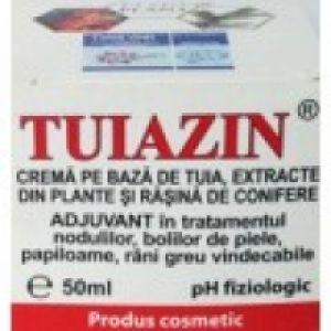 CREMA CU TUIA SI RASINI DE CONIFERE - TUIAZIN,  50 ml, Elzin Plant