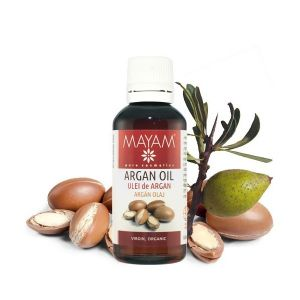 ULEI DE ARGAN VIRGIN BIO 50/1000 ml, Mayam
