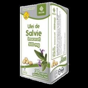 ULEI DE SALVIE 500 mg, 30 capsule, Ac Helcor