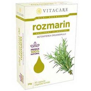 ULEI ESENTIAL DE ROZMARIN 50 mg, 30 capsule, Vitacare