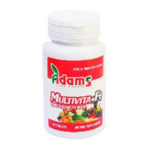MULTIVITA+FE 30 tablete, Adams Vision