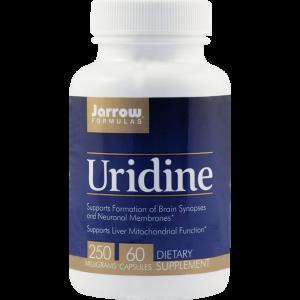 URIDINE 250 mg, 60 capsule, Jarrow Formulas