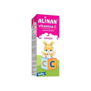 VITAMINA C SOLUTIE - ALINAN BABY 20 ml, Fiterman Pharma