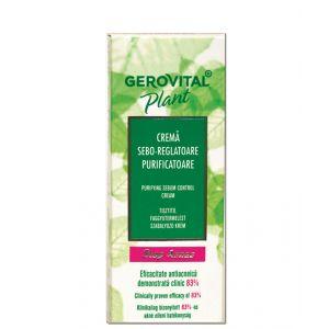 CREMA SEBO-REGLATOARE PURIFICATOARE GEROVITAL PLANT STOP ACNEE 50 ml, Farmec