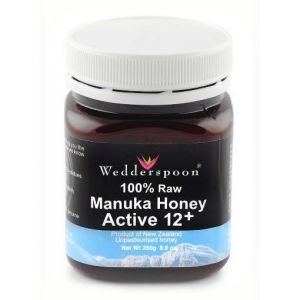 MIERE DE MANUKA ACTIVA 12+ RAW, 250 g, Wedderspoon