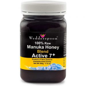 MIERE DE MANUKA ACTIVA 7+ RAW MIX, 500 g, Wedderspoon