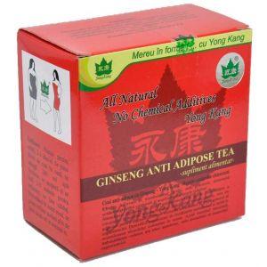 ANTIADIPOS CU GINSENG, Ceai 30 plicuri x 2 g, Yongkang
