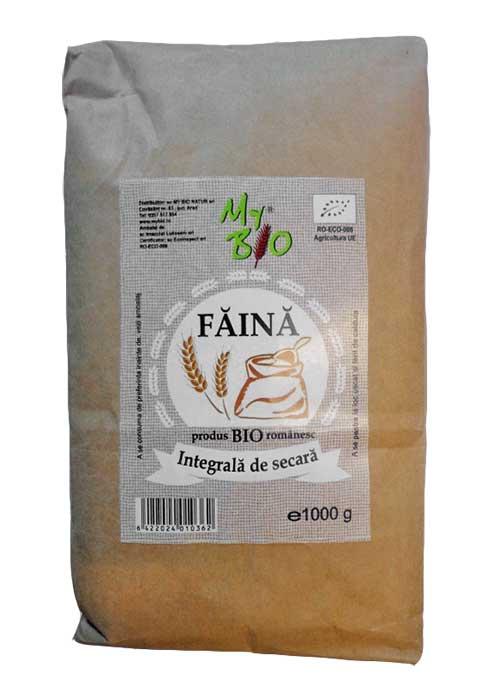 FAINA INTEGRALA DE SECARA BIO 1 kg, My Bio