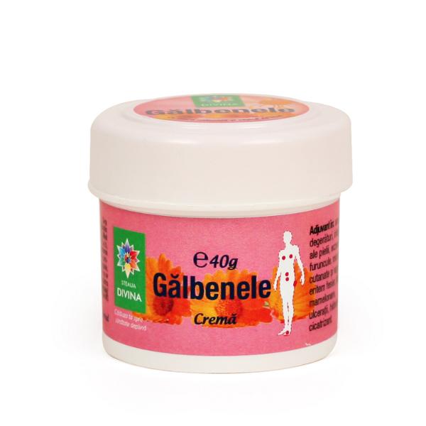 CREMA CU GALBENELE, 40 g, Santo Raphael