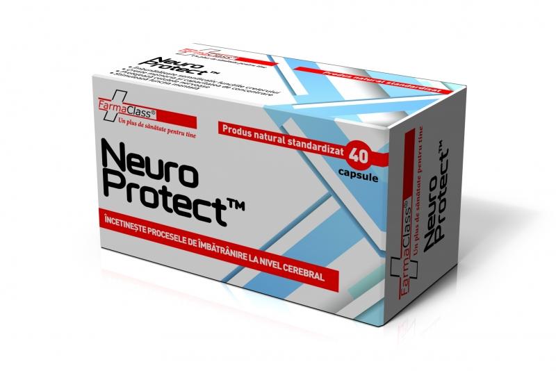 NEURO PROTECT, 40 capsule, FarmaClass