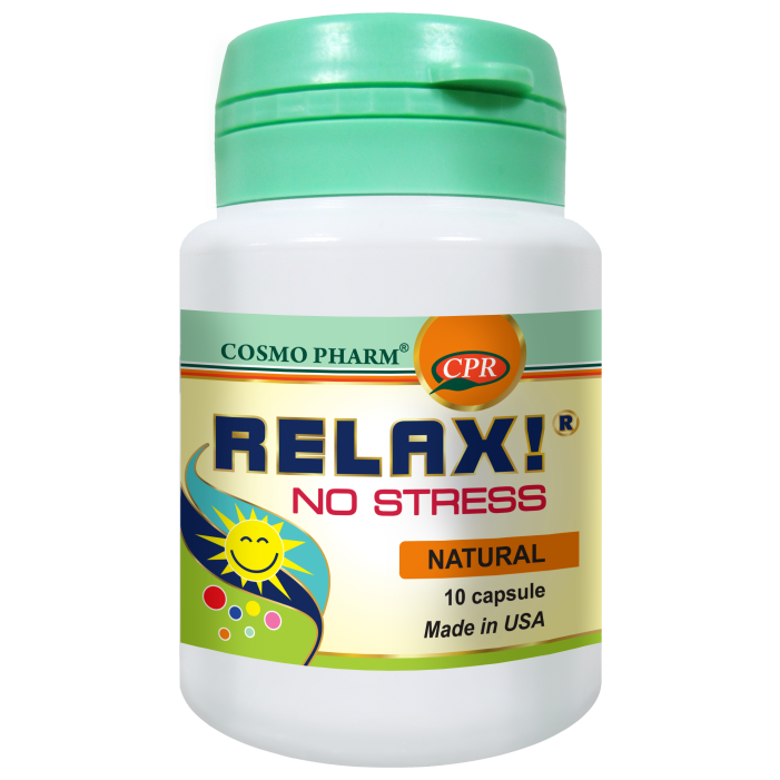 RELAX! NO STRESS 10 capsule, Cosmo Pharm