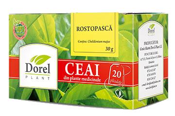 ROSTOPASCA, Ceai 20 plicuri, Dorel Plant