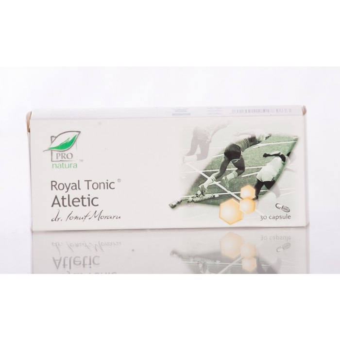 ROYAL TONIC ATLETIC 30 capsule, Laboratoarele Medica