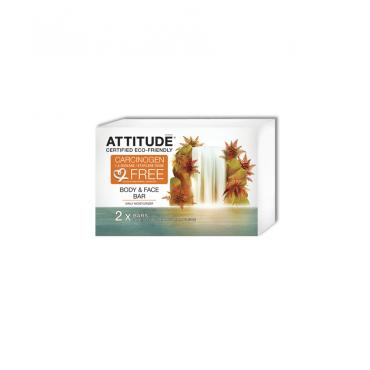 SAPUN SOLID HIDRATANT PENTRU FATA SI CORP, 2×120 g, Attitude