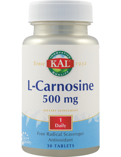 L-CARNOSINE 500 mg, 30 tablete, Kal