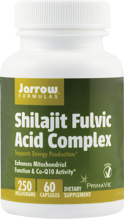 SHILAJIT FULVIC ACID COMPLEX 250 mg, 60 capsule, Jarrow Formulas