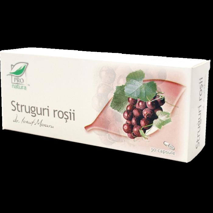STRUGURI ROSII, 30/60 capsule, Laboratoarele Medica