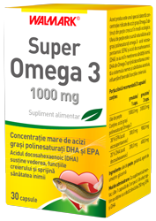 SUPER OMEGA 3 100 mg, 30 capsule, Walmark