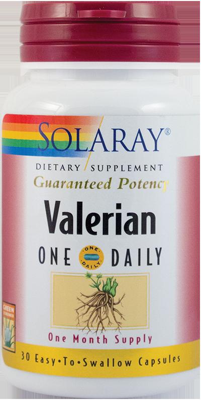 VALERIAN EXTRACT 300 mg, 30 capsule, Solaray