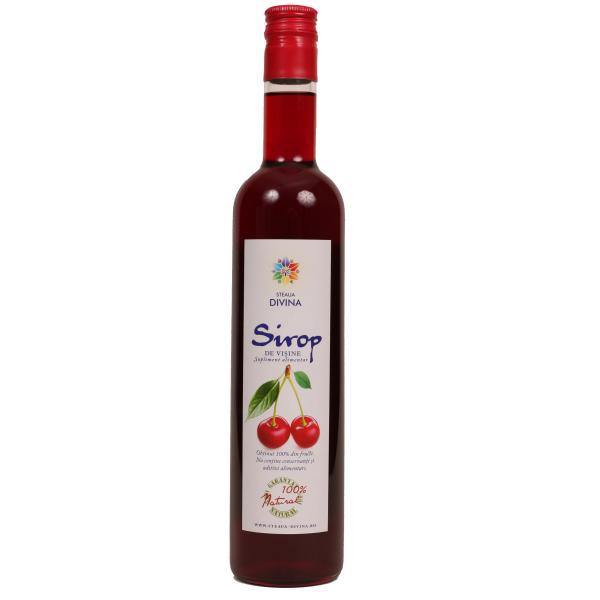 SIROP VISINE STICLA, 500 ml, Santo Raphael