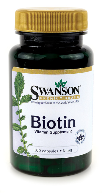VITAMINA B7 (BIOTINA) 5 mg, 100 capsule, Swanson