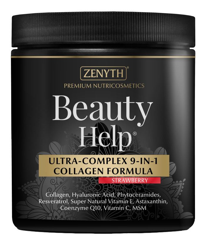 BEAUTY HELP - ULTRA COMPLEX COLLAGEN & HYALURONIC ACID 9 IN 1 FORMULA 300 g, Zenyth