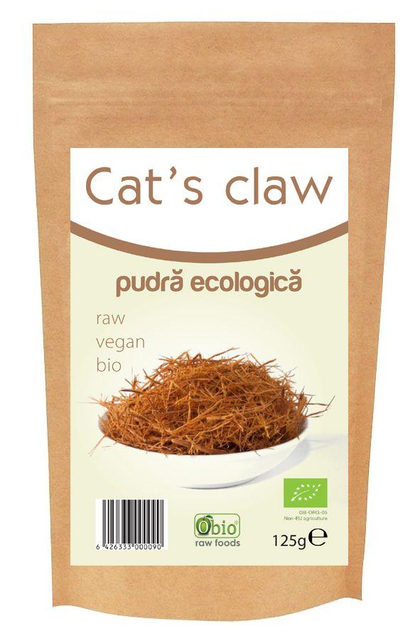 CAT'S CLAW (Gheara Matei) RAW BIO, 125 g, Obio