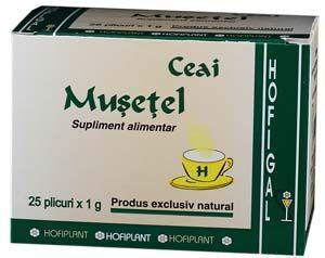 MUSETEL - CEAI, 25 plicuri x 1 g, Hofigal