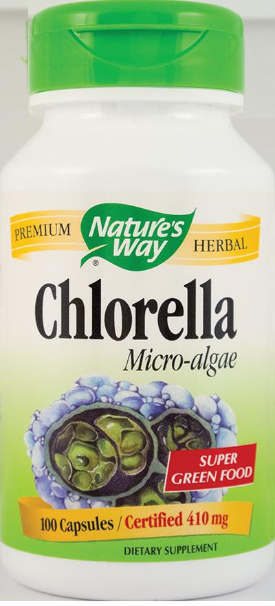 CHLORELLA MICRO-ALGAE 100 capsule, Nature's Way