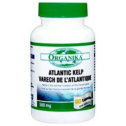ATLANTIC KELP 500 mg, 90 capsule, Organika