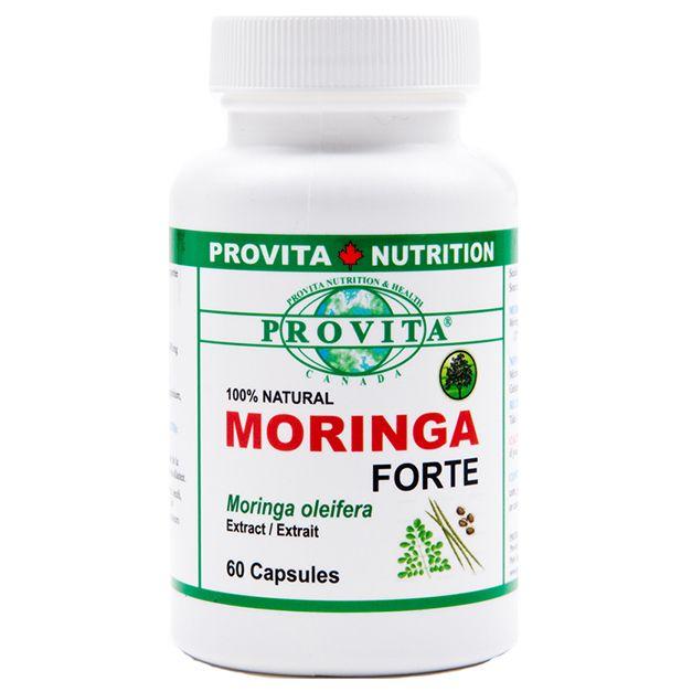 MORINGA (OLEIFERA) FORTE 3000 mg, 60 capsule, Provita Nutrition