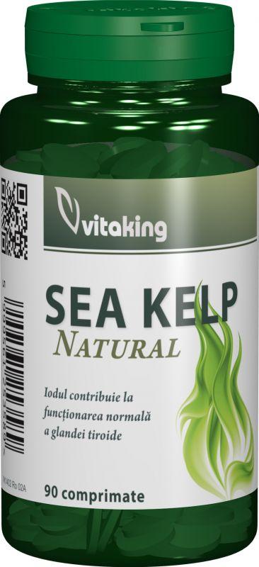 ALGA MARINA (SEA KELP) 30 mg, 90 comprimate, Vitaking