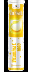 VITAMINA C - SUN HEALTH, 20 comprimate efervescente, Sun Wave Pharma