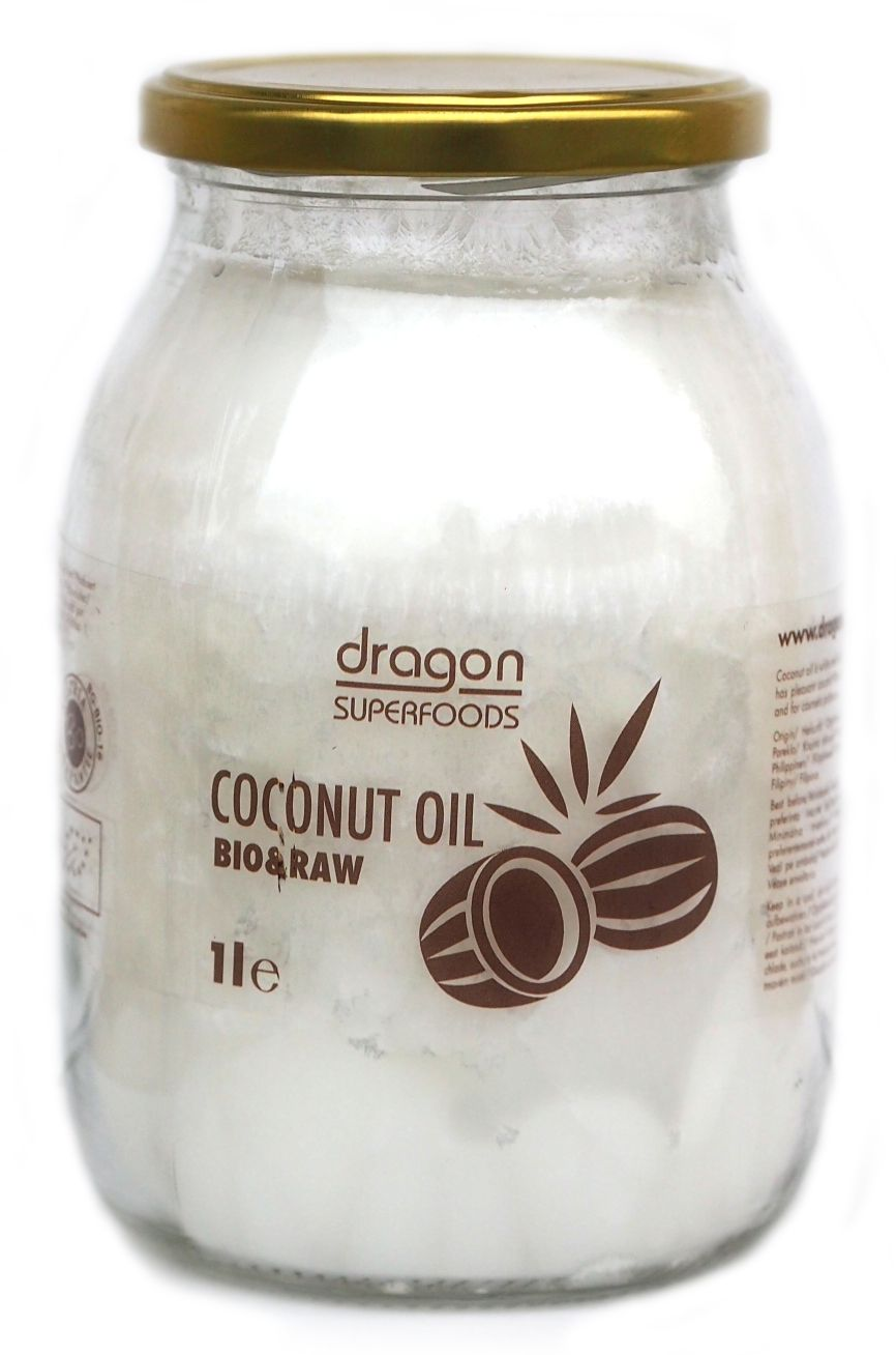 ULEI DE COCOS VIRGIN BIO 1000 ml, Dragon Superfoods