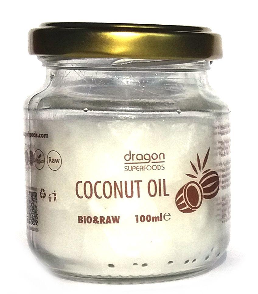 ULEI DE COCOS VIRGIN RAW BIO 100 ml, Dragon Superfoods