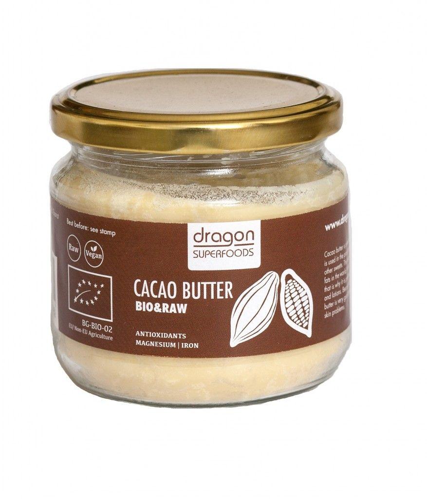 UNT DE CACAO CRIOLLO RAW BIO 300 g, Dragon Superfoods