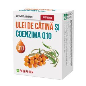 ULEI DE CATINA SI COENZIMA Q10, 30 capsule, Parapharm