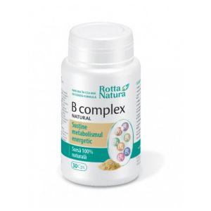 B COMPLEX NATURAL, 30 capsule, Rotta Natura