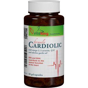 COMPLEX CARDIOLIC PENTRU INIMA, 60 capsule gelatinoase, Vitaking