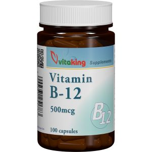 VITAMINA B12 (CIANOCOBALAMINA) 500 mcg, 100 capsule, Vitaking